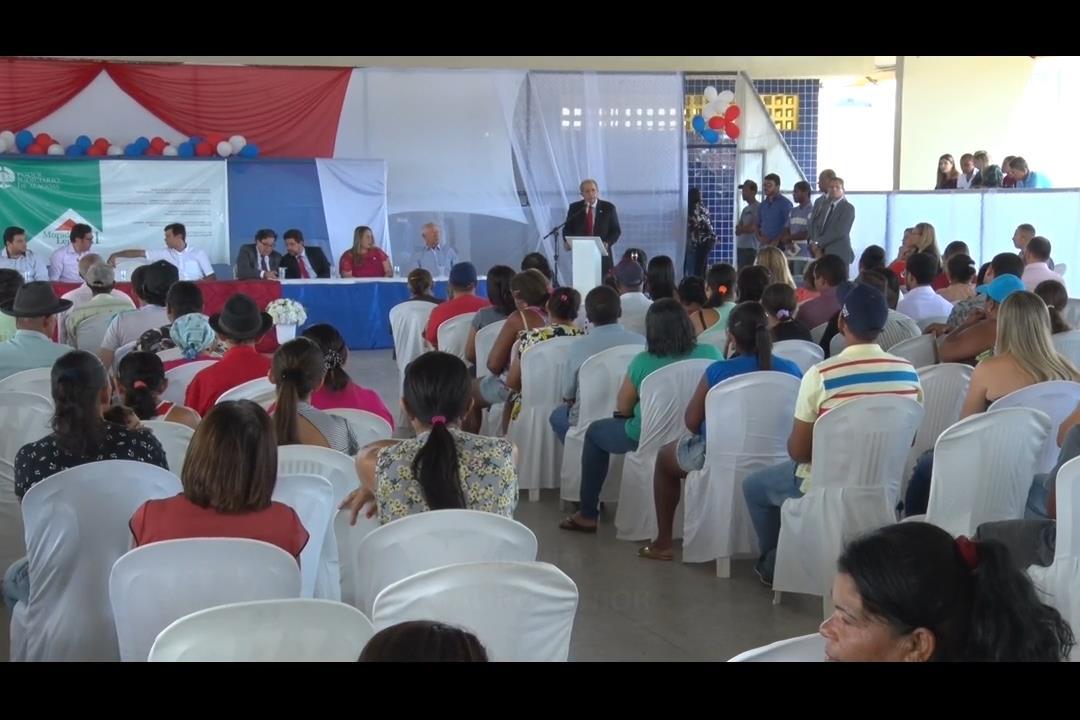 Moradia Legal: 260 registros de imóveis são entregues em Cacimbinhas